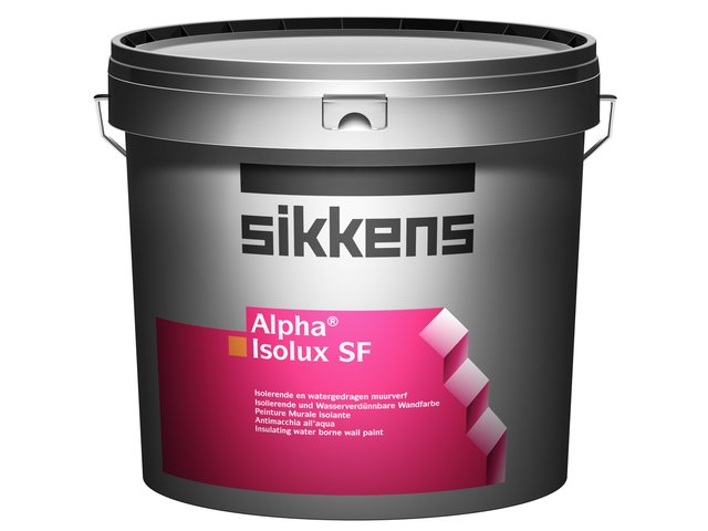 Pittura Murale All Acqua Sikkens Alpha Isolux Sf Ediltermika
