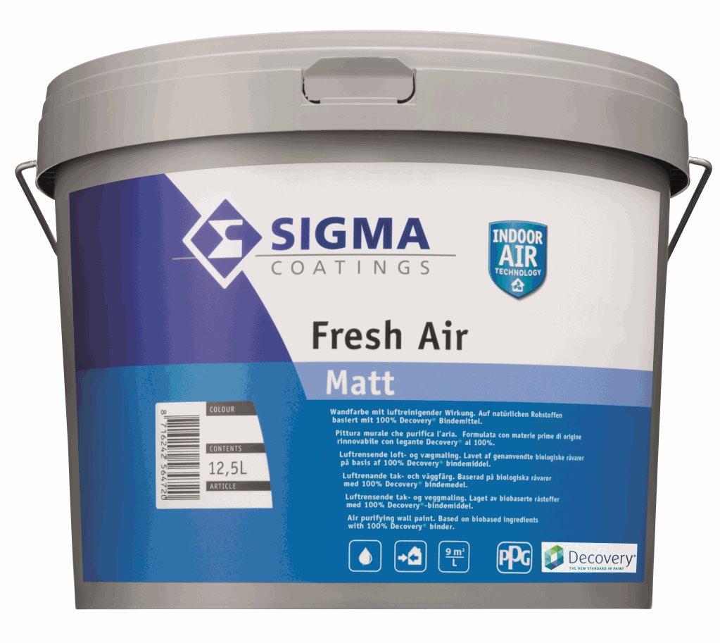 Pittura murale che purifica l'aria - Sigma Fresh Air ...