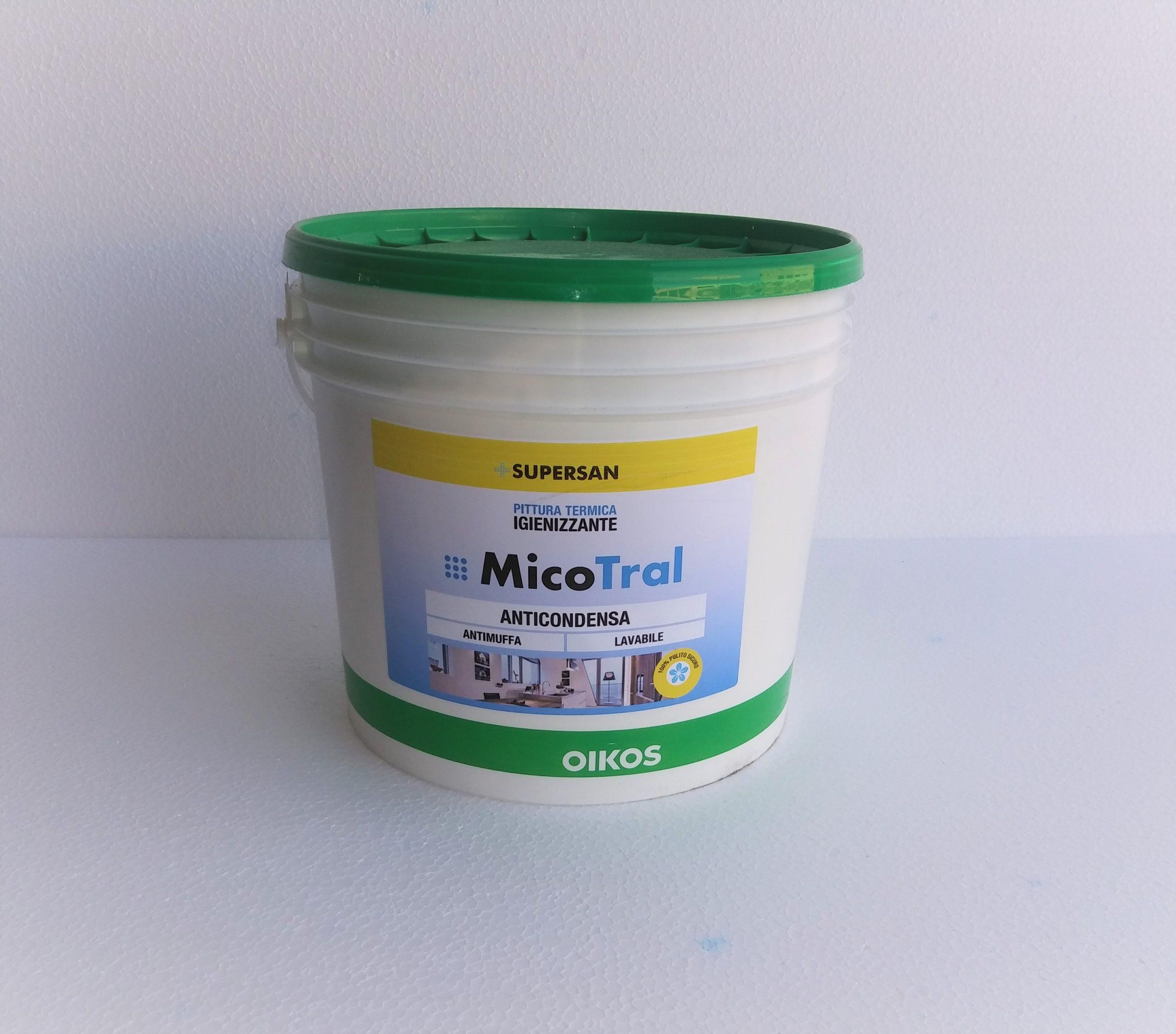 Pittura Anticondensa Igienizzante Oikos Micotral Ediltermika